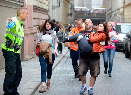 Две казахстанки пострадали во время взрыва в Праге