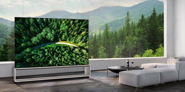 LG объявляет о глобальном начале продаж первого в мире  OLED-телевизора с разрешением 8К