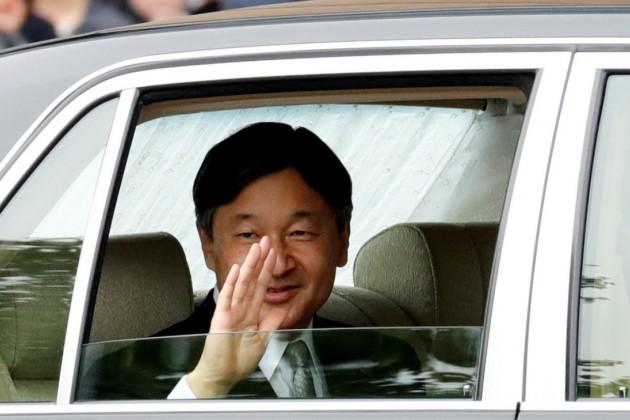 Новый император Японии Нарухито вступил на престол
