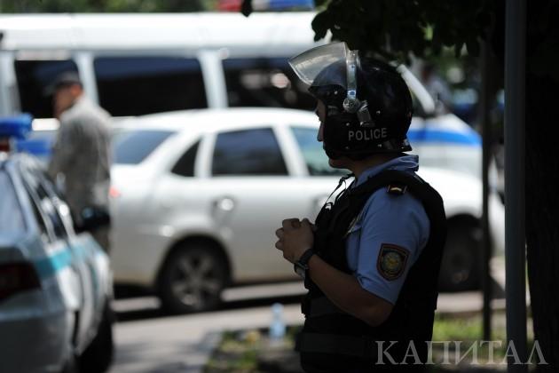 Антитеррористические учения пройдут в Алматы