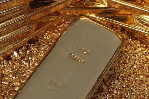 Золото на Лондонской бирже подешевело