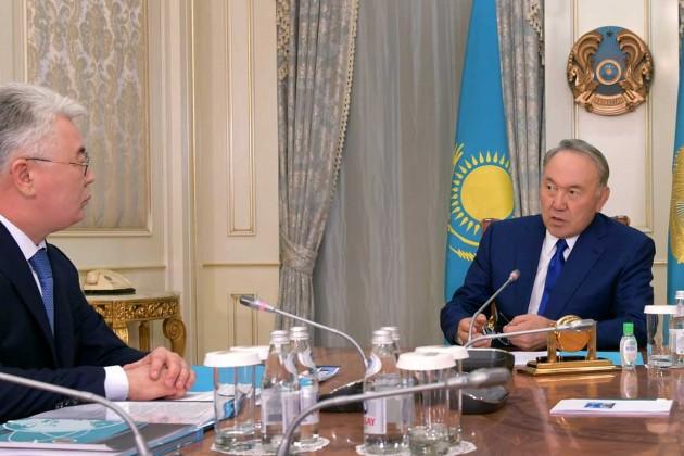 Нурсултан Назарбаев провел встречу сБейбутом Атамкуловым