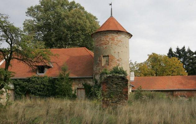 В Чехии продается замок XVII века за 1 крону