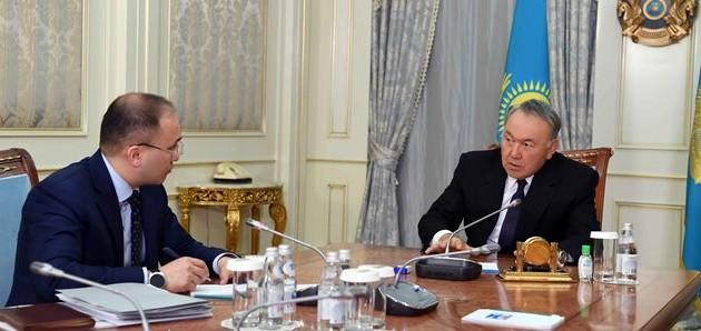 Даурен Абаев доложил президенту опрограмме Цифровой Казахстан