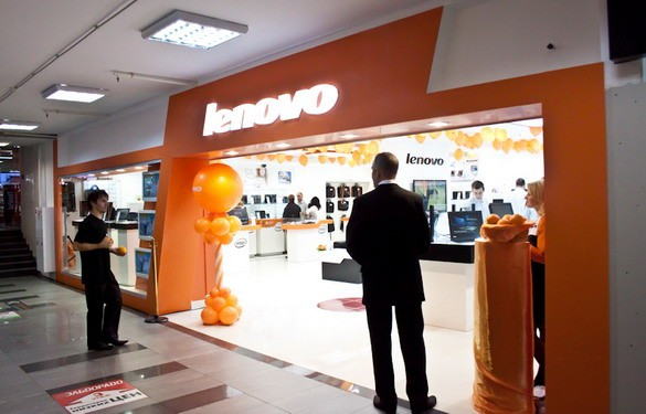Lenovo за год увеличила продажи на 15%