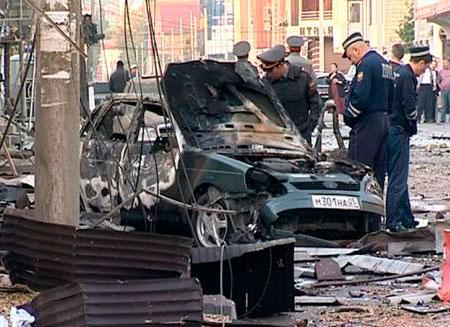При взрывах в Махачкале пострадал 31 человек