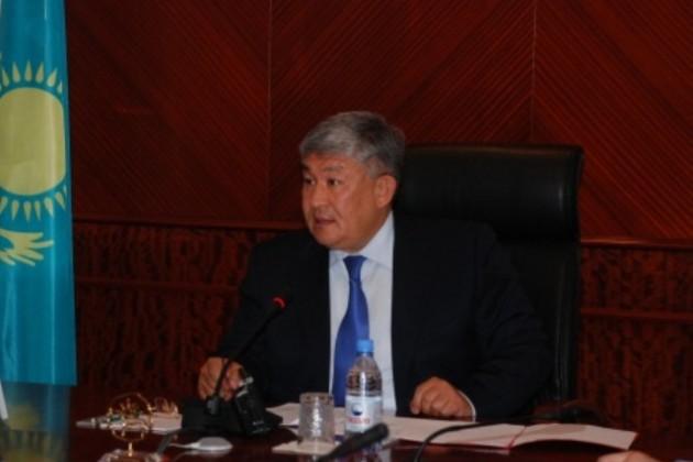 Кушербаев стал акимом Кызылординской области
