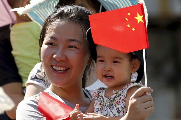 Китай начнет платить завторого ребенка