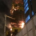 Из-за пожара в Абу-Даби Плаза никто не пострадал