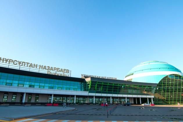 Заполгода изаэропорта Астаны выполнено свыше 14тысяч вылетов
