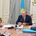 Нурсултан Назарбаев заслушал отчет Маулена Ашимбаева