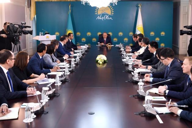 От партии Nur Otan будет выдвинута кандидатура на выборы Президента
