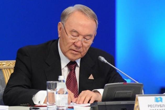 Втечение года Нурсултан Назарбаев подписал 88законов