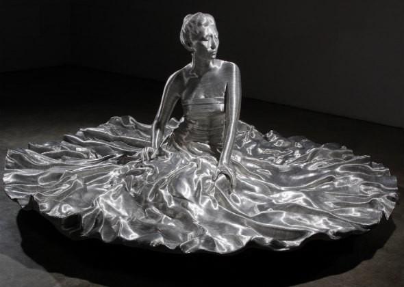 Корейской скульптор создал новый вид искусства