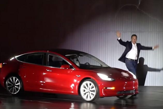 Илон Маск рассказал оTesla Model 3с двумя двигателями