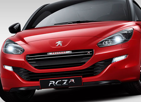 Peugeot представили свой RCZ R