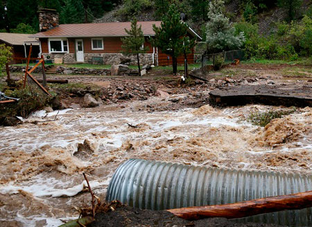 Наводнение в Колорадо: 172 человека пропали без вести. Фото