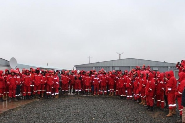 Рабочие Казстройсервиса прекратили забастовку