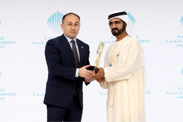 Казахстан получил премию The World Government Summit