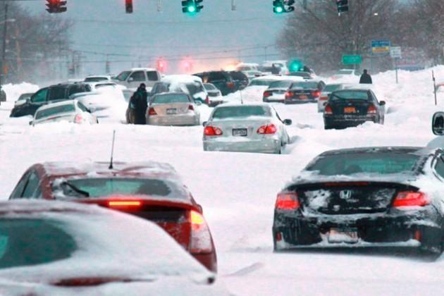 США оценили ущерб от снежных бурь