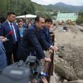 Кариму Масимову доложили  о борьбе с подтоплениями в Алматы