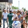 МВД: Эвакуированные из Арыса дети переданы родителям