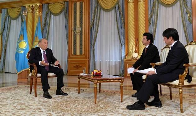 Нурсултан Назарбаев прокомментировал российско-японские отношения