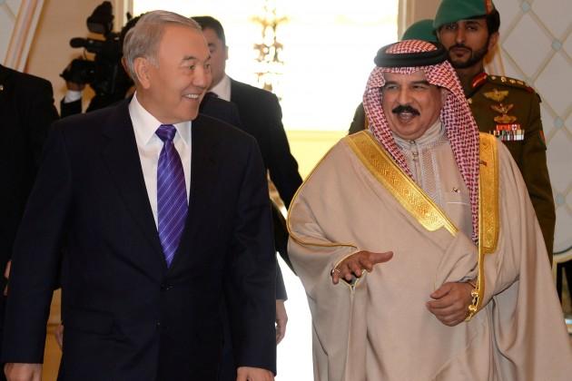 Президент РК встретился с королем Бахрейна