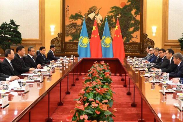 СиЦзиньпин получил приглашение посетить Казахстан в2019году