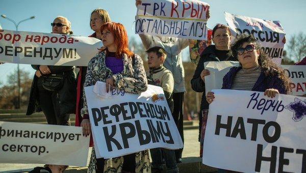 ЕС и США не признают референдум в Крыму
