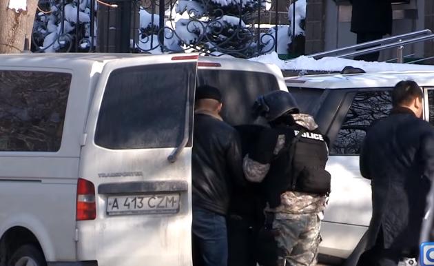 Видео спецоперации по задержанию Тохтара Тулешова