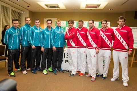 Казахстан не сумел пробиться в полуфинал Кубка Дэвиса