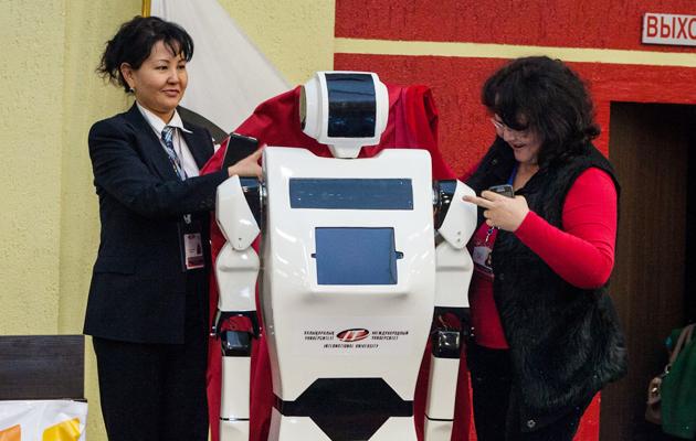 Представлен первый отечественный робот