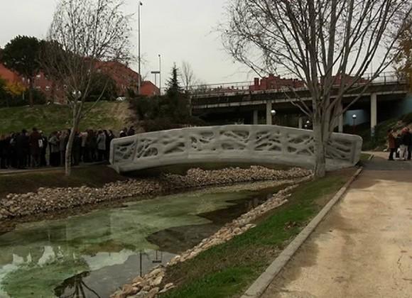 ВИспании напечатали мост на3D-принтере
