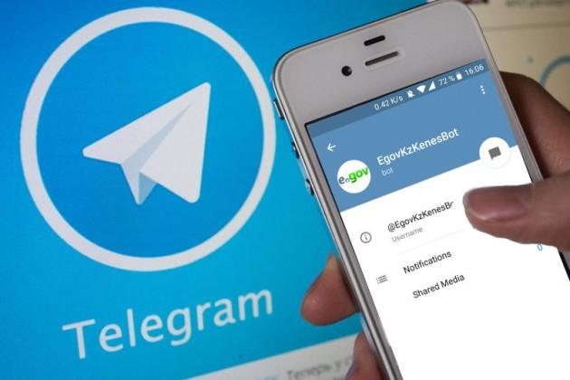 Более полумиллиона госуслуг выдано через Telegram-бот за год
