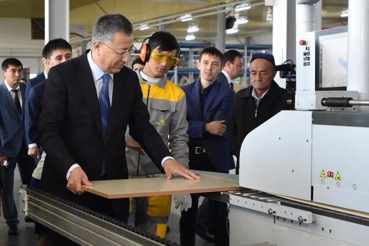 Наюге Казахстана в2017году запущено 13предприятий