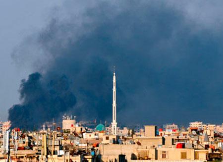 В Дамаске новые взрывы
