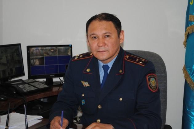 Арыстангани Заппаров стал заместителем министра внутренних дел