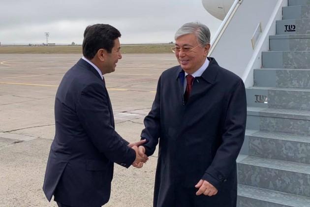 Президент прибыл с рабочим визитом в Карагандинскую область