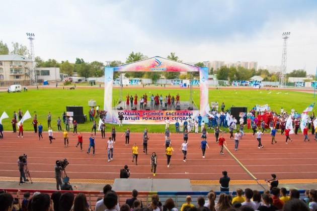Участниками фестиваля «Аман келешек» стали свыше 3000детей