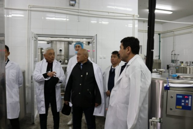 Здание завода КазАвиаСпектр отдадут под производство сухого молока