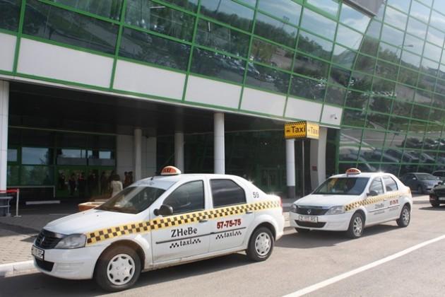 В аэропорту Астаны работает официальное такси