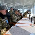 Министр обороны РК наблюдал за ходом тактического учения Айбалта-2016