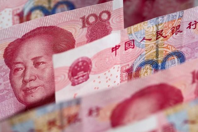 Юань на6-м месте среди наиболее часто используемых валют