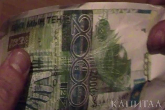 В Алматы задержали троих подозреваемых в подделке купюр