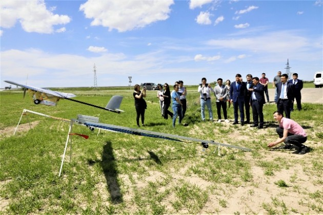Казпочта тестирует новую модель дронов