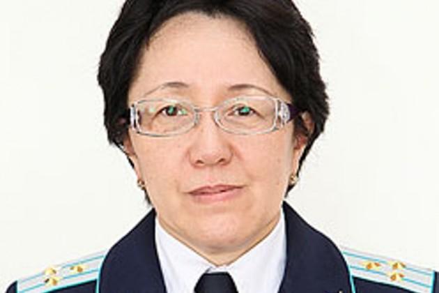 Впервые в Казахстане генералом стала женщина