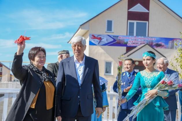 В Талдыкоргане 100 семей стали новоселами