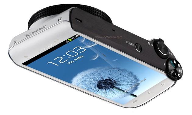 Samsung Galaxy стал еще и фотоаппаратом