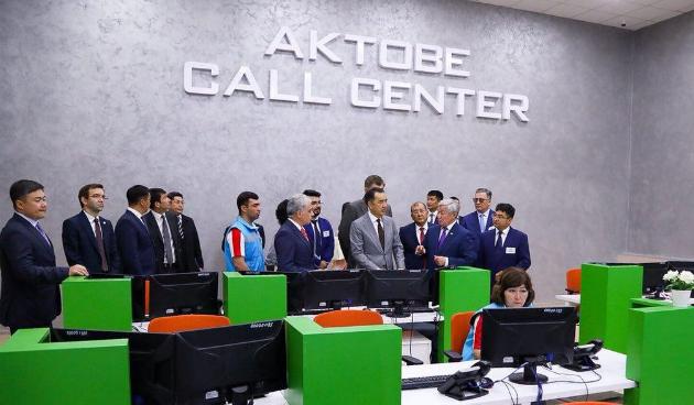 Бердыбек Сапарбаев доложил оразвитии Актюбинской области